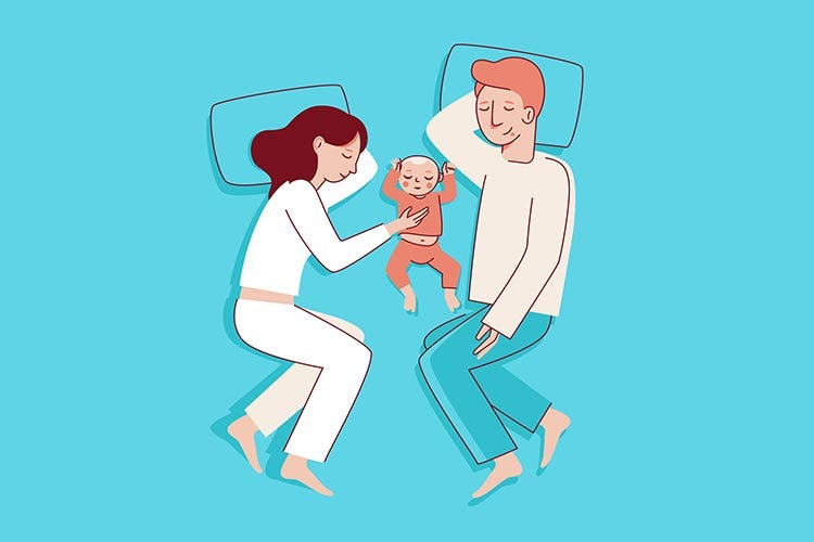 赤ちゃんとママパパ