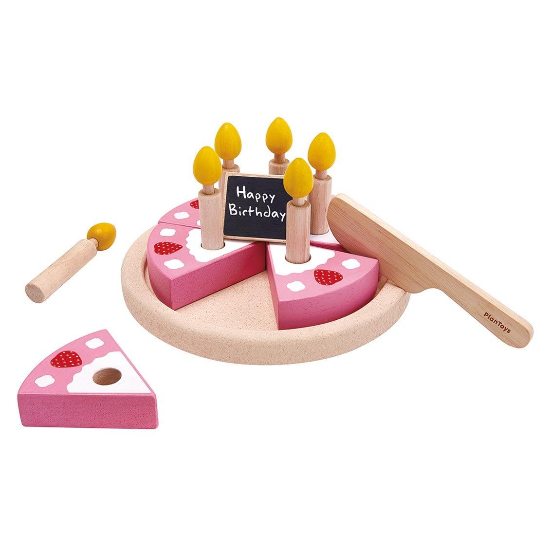 バースデーケーキ|木のおもちゃ