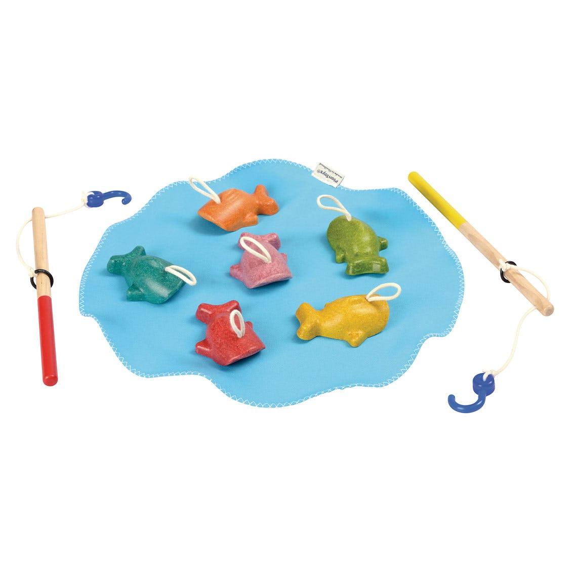 さかなつり 木のおもちゃ・知育玩具