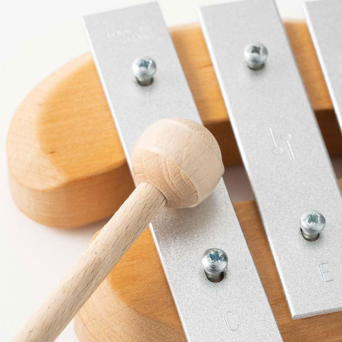 デコアの鉄琴・ドミソ|楽器のおもちゃ