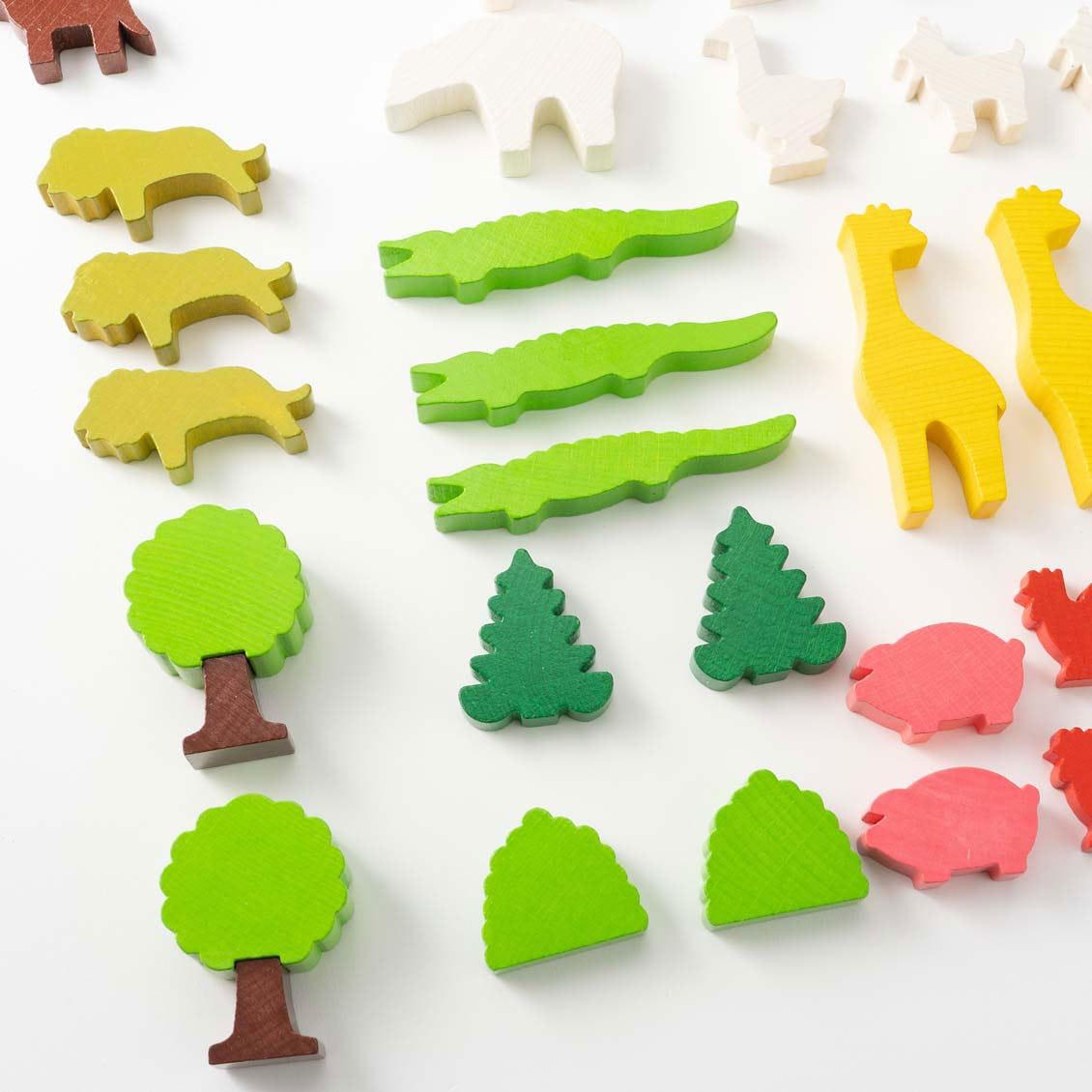ミニランド・セット|木のおもちゃ