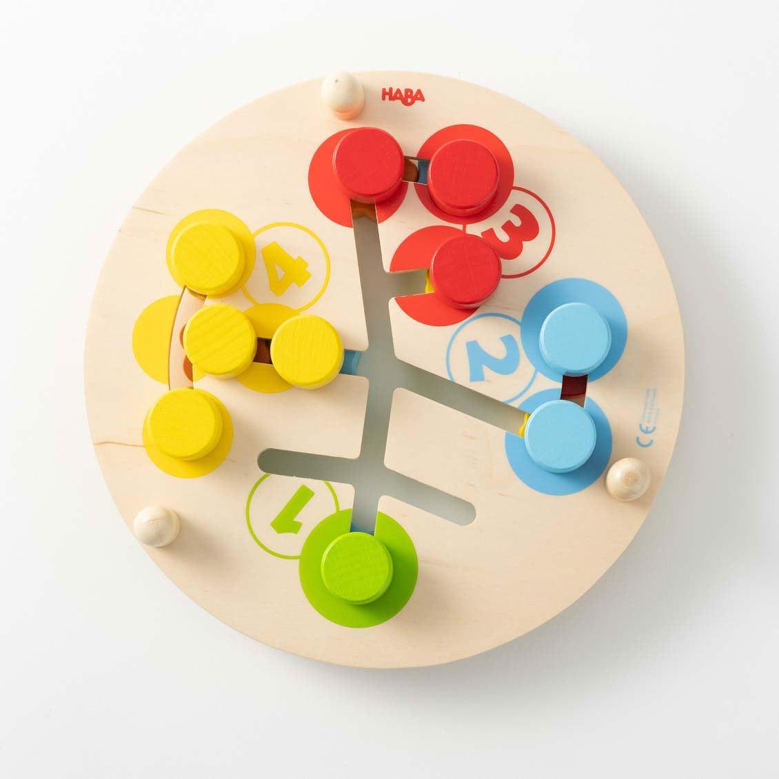 スライドボードフラワー|木のおもちゃ