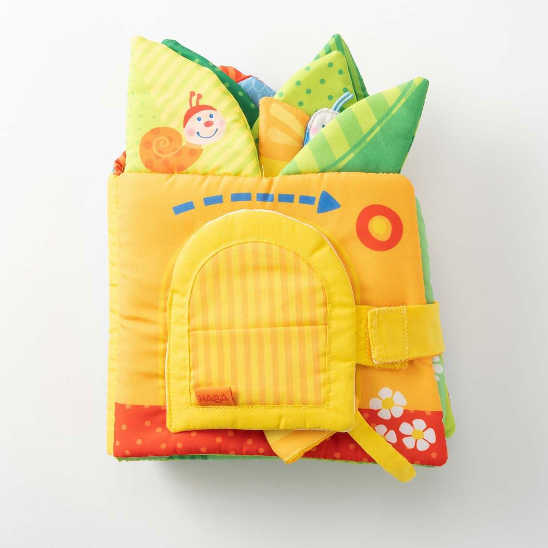 クロースブック・リトルリーフハウス|布のおもちゃ