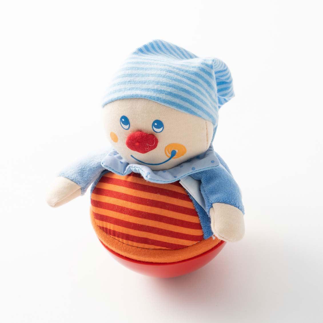 おきあがり人形キャスパー|布のおもちゃ
