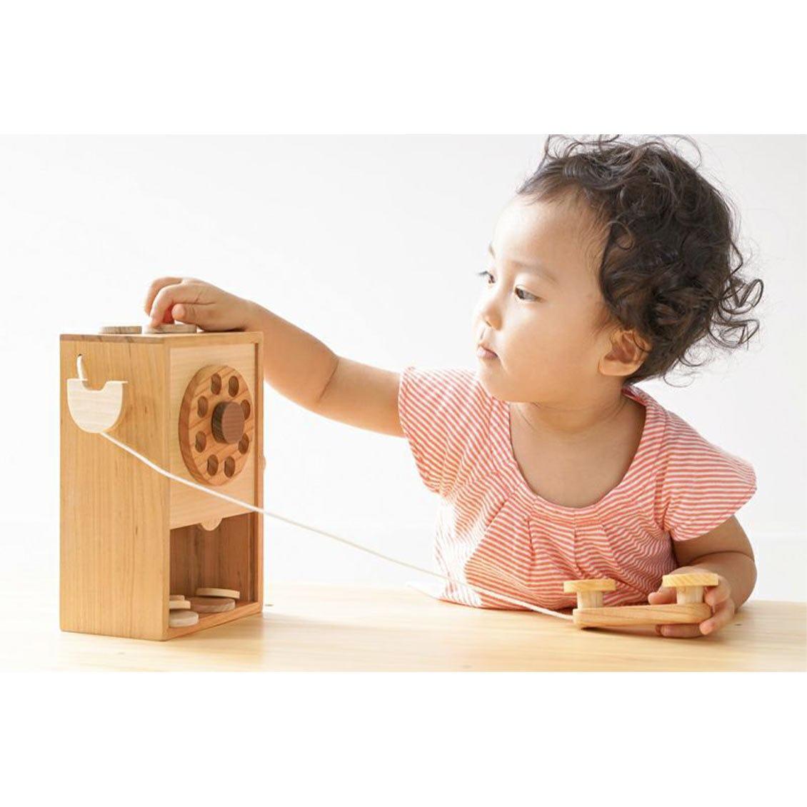 お電話ボックス|木のおもちゃ