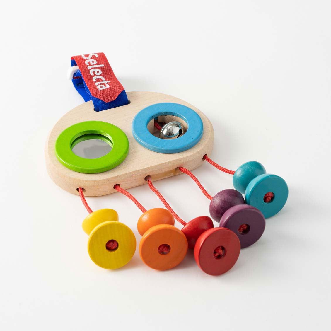 おでかけトイ・カラフルビーズ|木のおもちゃ