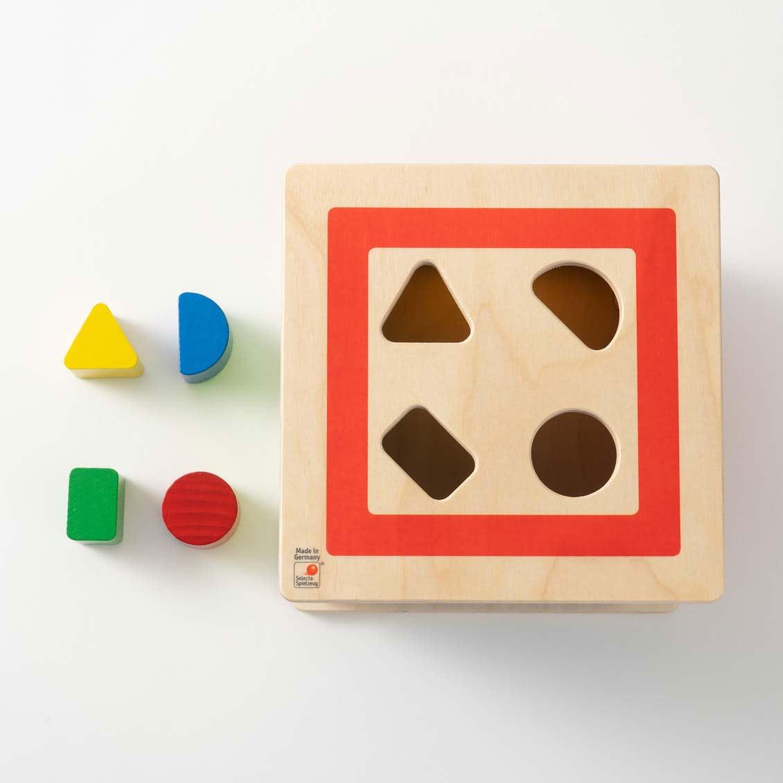 トリダスボックス|型はめパズル|木のおもちゃ